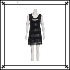 🖤Philosophy sequined embroidered mini dress